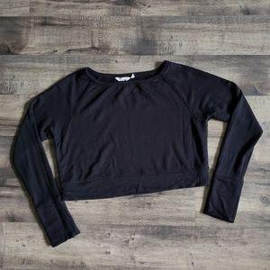 Athleta Crop Long Sleeve Shirt